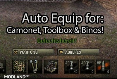 Auto Equip Mod 22 [1.5.1.0]
